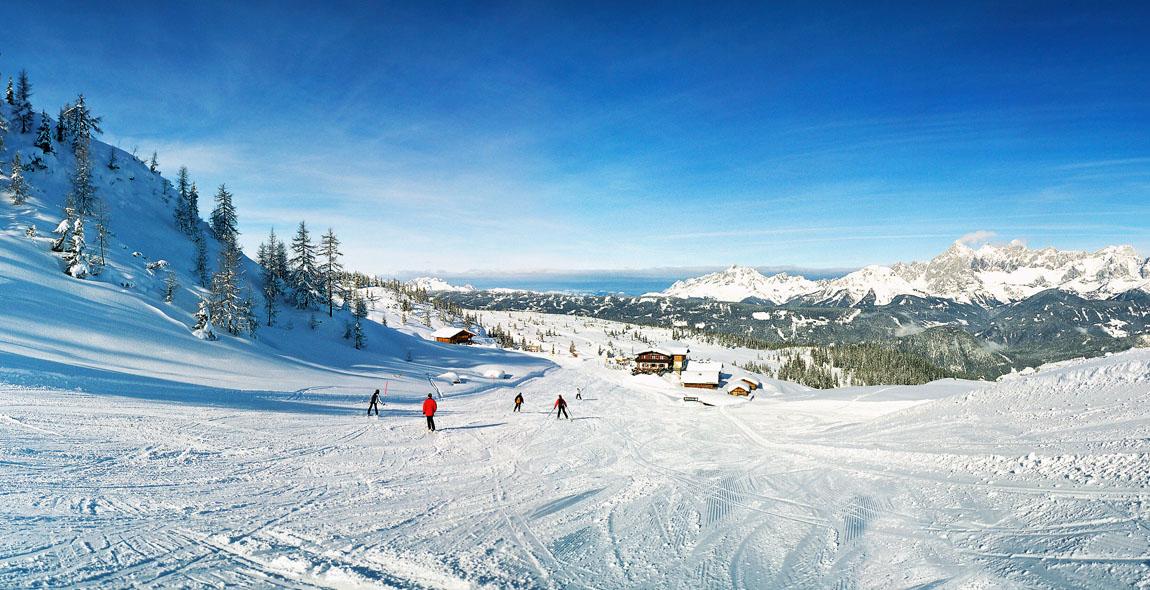 Skifahren in Forstau